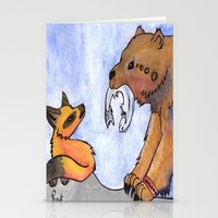 gift card Stationery Cards featuring Gift by Sparki Wolf