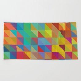Meduzzle: Color Chaoses Beach Towel