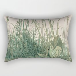 Albrecht Durer - The Large Piece of Turf Rectangular Pillow