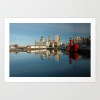 liverpool Art Prints featuring Liverpool Luminations by Jonah Anderson