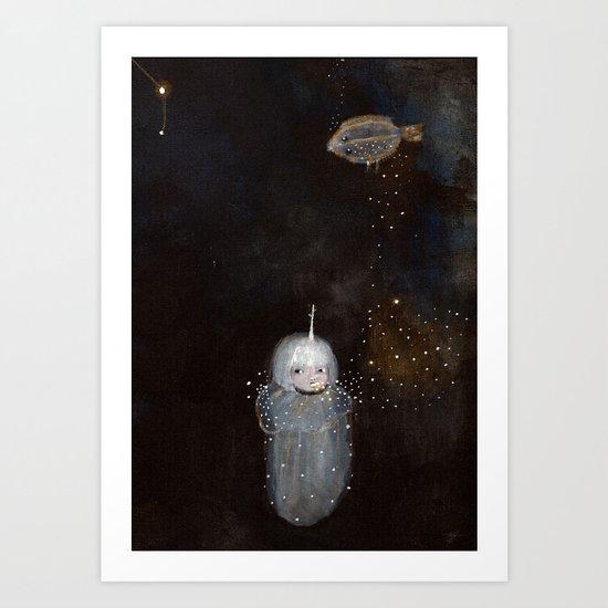 Lenguado Dreams I Art Print