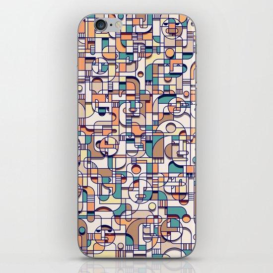 HUMAN BEINGS iPhone & iPod Skin