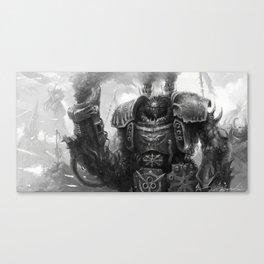 Warhammer40k - Chaos Centurion Canvas Print