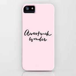 Awestruck Wonder iPhone Case