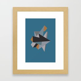 Follow Framed Art Print
