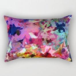 Summer Garden Batik Rectangular Pillow