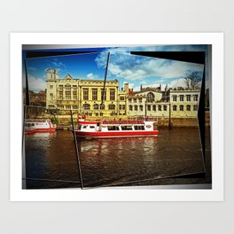 River Ouse Cruise Art Print