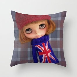 ERREGIRO CUSTOM BLYTHE DOLL SIO Throw Pillow