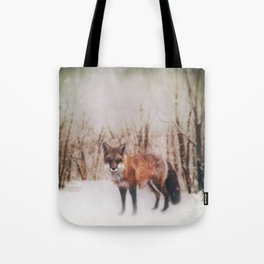 Winter Visitor Tote Bag