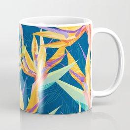 Strelitzia Pattern Coffee Mug