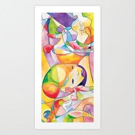 Divergent Threads, Lucent Memories Art Print