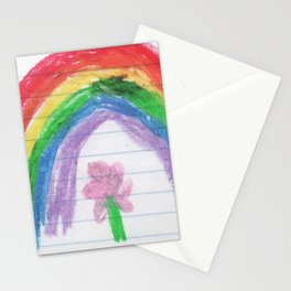 A Child's Rainbow (by Melody Leoness) Stationery Cards