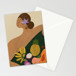 Fruits for Sale Stationery Cards
