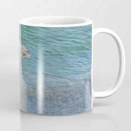 Waterbird on the Beach Coffee Mug