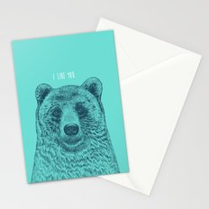 I Like You (Bear) Stationery Cards