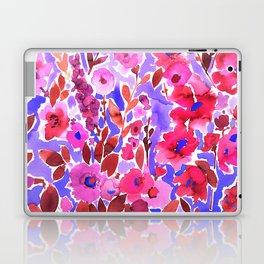Isla Floral Purple Laptop & iPad Skin