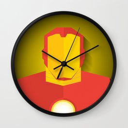 Homem de Ferro Wall Clock