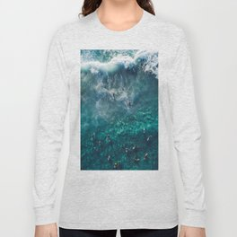 Surfing in the Ocean 2 Long Sleeve T-shirt