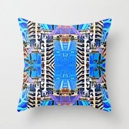 Bird Codes Throw Pillow
