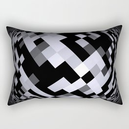 black-and-white -05- Rectangular Pillow