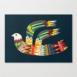 Native Bird Canvas Print