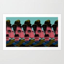 Charplie Sharply Art Print