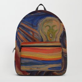 The Scream Edvard Munch Classic Art Best Quality Backpack