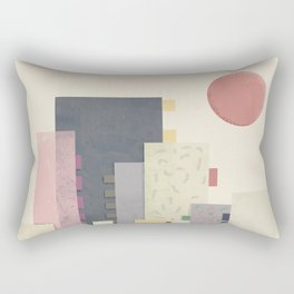 City on Earth Rectangular Pillow