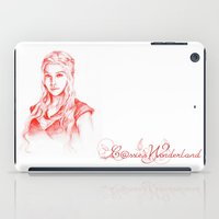 mother of dragons iPad Cases featuring Mother of dragons by Cassie's Wonderland