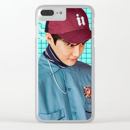 Kim Junmyeon Clear iPhone Case