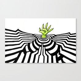 Ripplescape #1 Canvas Print