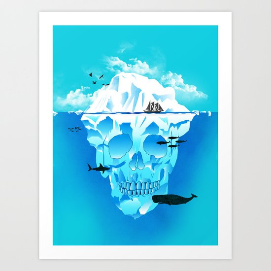 Cold Cruisings and Icy Endings Art Print