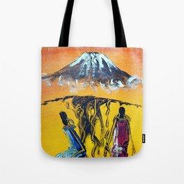 The Snows of Kilimanjaro Tote Bag