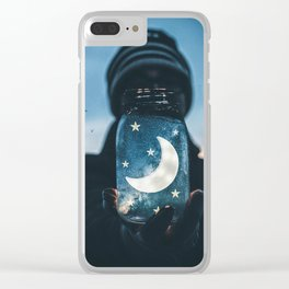 Moon Jar by GEN Z Clear iPhone Case