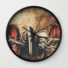 Baby Chucks Wall Clock