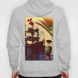 pirate ship Hoody