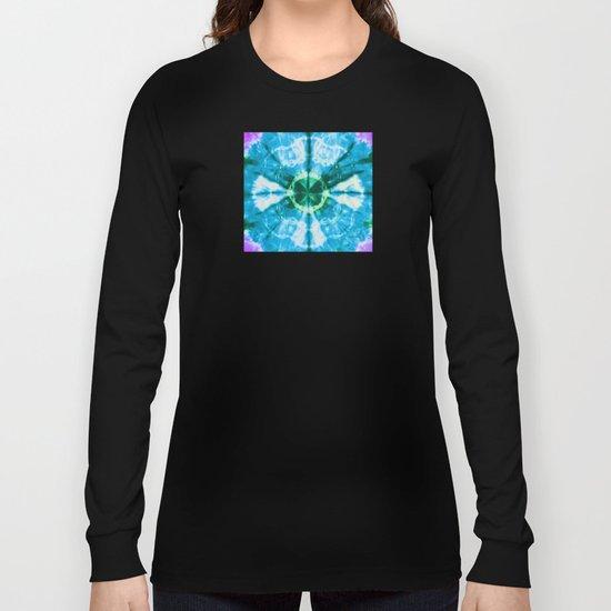 Boho Blue Bloom Long Sleeve T-shirt