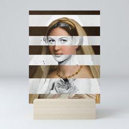 Raphael's Woman with a Veil & Hedy Lamarr Mini Art Print