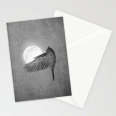 Night Bird Stationery Cards