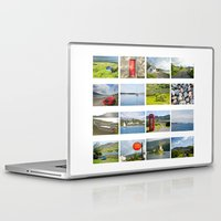 scotland Laptop & iPad Skins featuring Scotland by Basma Gallery
