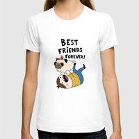 pug T-shirts featuring PUG by Jarvis Glasses