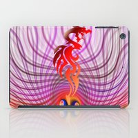 dragon iPad Cases featuring Dragon by haroulita