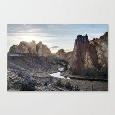 Smith Rocks - Oregon Canvas Print