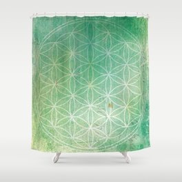 Life of Circles Shower Curtain