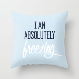 Baesic Absolutely Freezing Throw Pillow