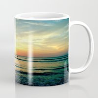 sunrise Mugs featuring Sunrise by THEORY