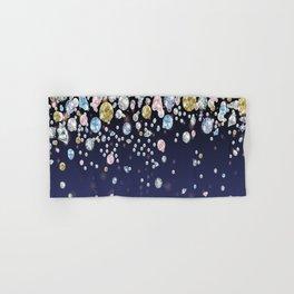 Fallling Gems Hand & Bath Towel