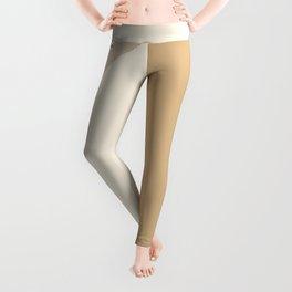 Geometric Lines in Neutral Colors 8 Leggings