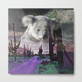 Magic Animals KOALA Metal Print