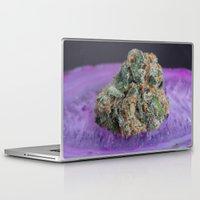 medical Laptop & iPad Skins featuring Jenny's Kush Medical Marijuana by BudProducts.us